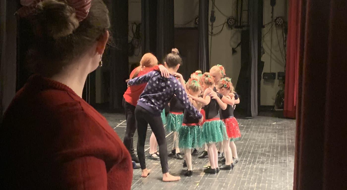 Christmas dance recital